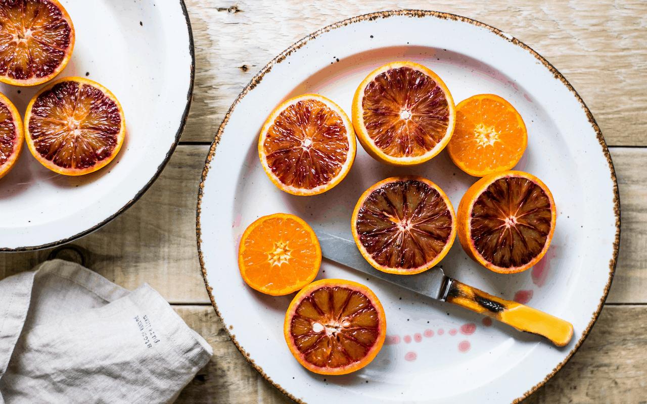 Muffin vegani all'arancia