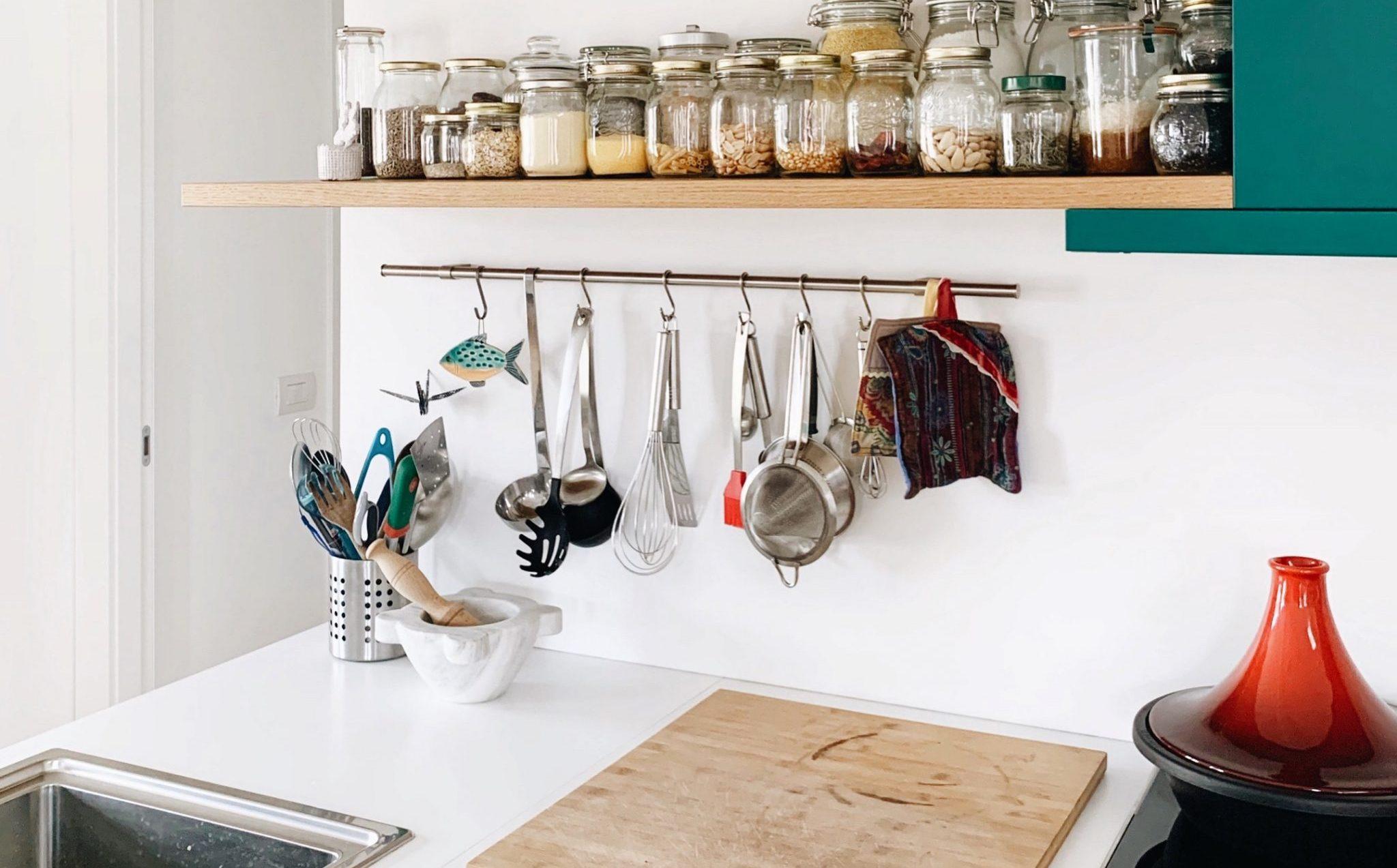 cucina organizzata